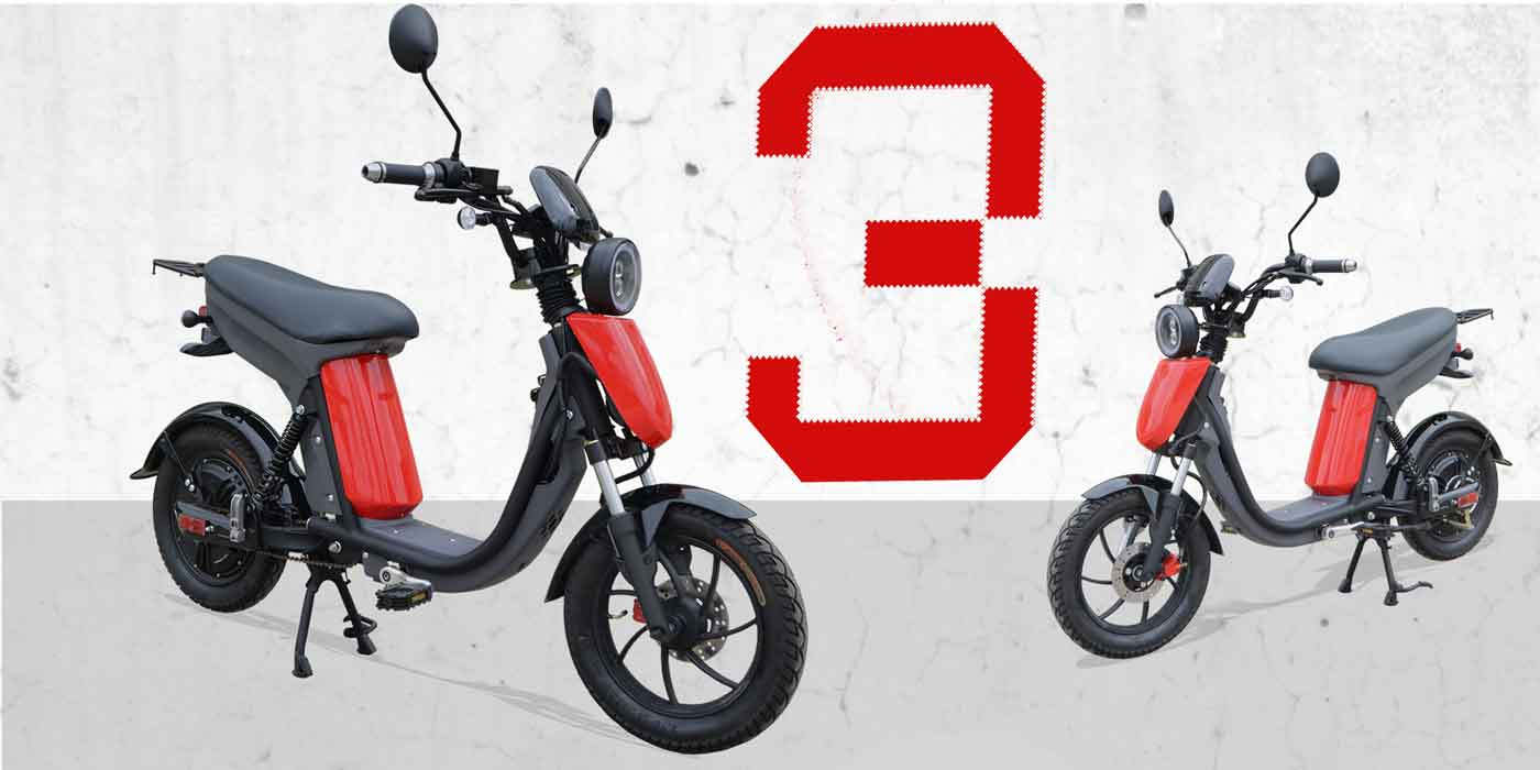 Evolts electric moped bike series 8